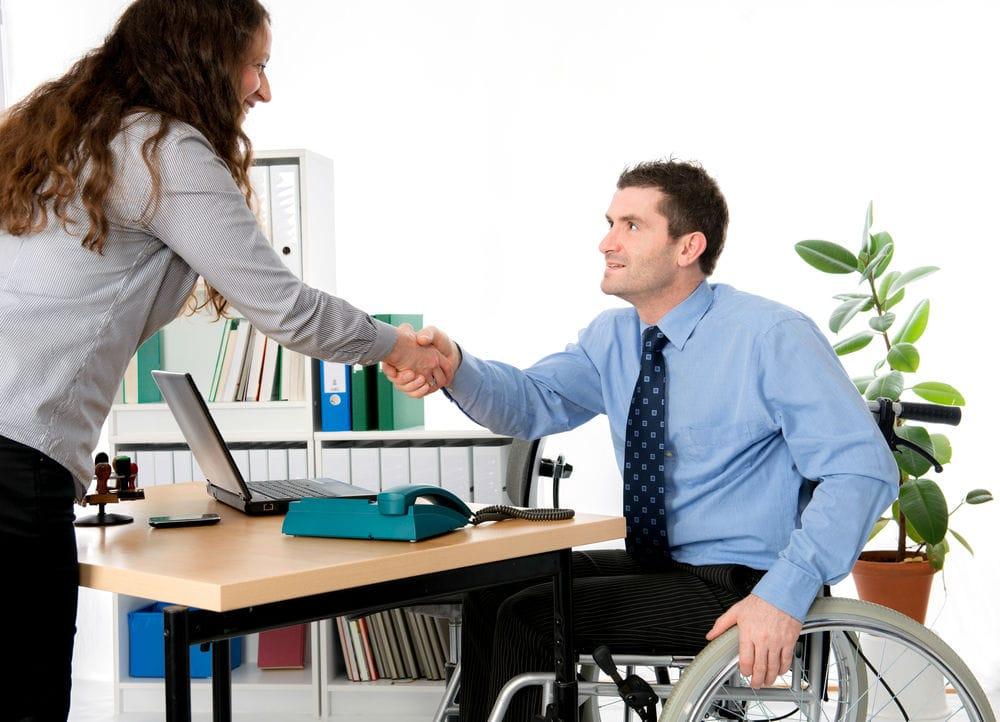 장애인 일자리 지원